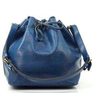 Auth Louis Vuitton Noe Pm Shoulder Bag #4023L11
